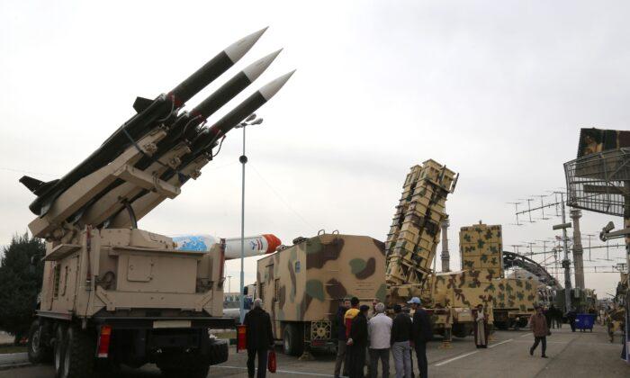 Kekuatan militer Iran bisa membuat Amerika berantakan. Foto:Atta Kenare/AFP