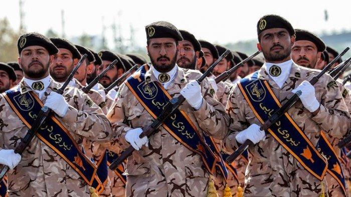 Pasukan Garda Revolusi Iran (AFP/STR)