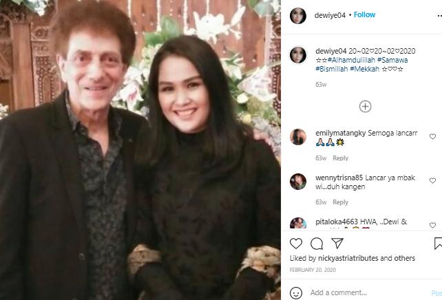 Ahmad Albar dan Istri Kompak dan Mesra Selalu: Yuk, Intip Fotonya