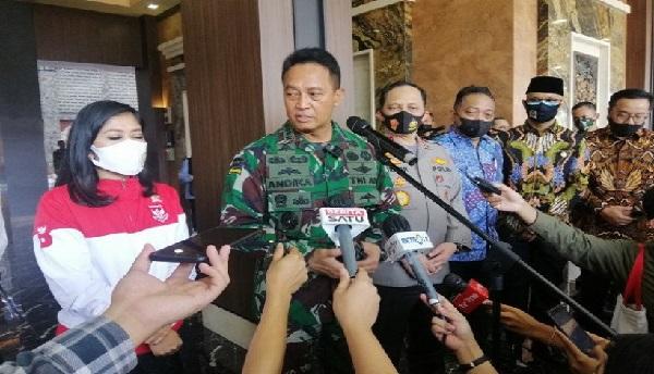 Amarah Jenderal Andika Perkasa Ditentang Pensiunan Tentara Ini (Foto: ANTARA)
