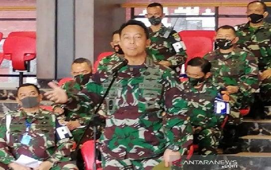 Amarah Jenderal Andika Bikin Resah Pensiunan Tentara (Foto: ANTARA)