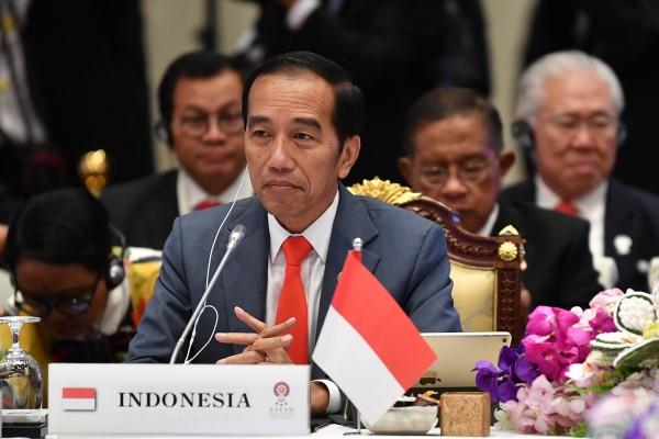 Presiden Jokowi sampaikan pandangan terhadap PBB di KTT ASEAN ke-11. Foto: Biro Setpres