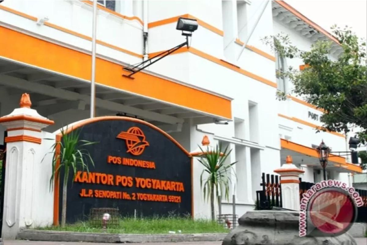 Kantor Pos Besar Yogyakarta.