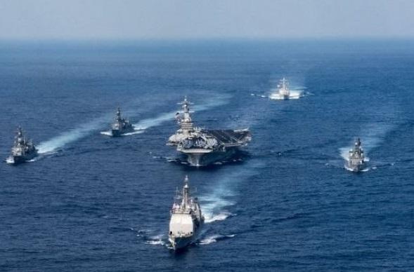 Amerika Hadapi Kekuatan Militer Tiongkok di Laut China Selatan