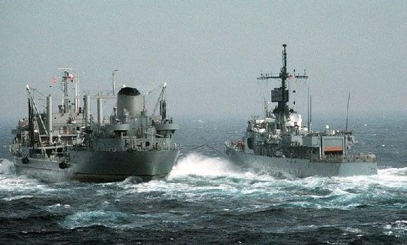 Diusir China, Kapal Perang Amerika Serikat Tanpa Perlawanan