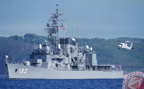 Kapal perang kelas destroyer Pasukan Bela Diri Maritim Jepang, JMSDF Asayuki (DD-132). (www.youtube.com)