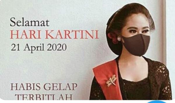 Hari Kartini: Twitter Banjir Potret Wanita Berkebaya Plus Masker