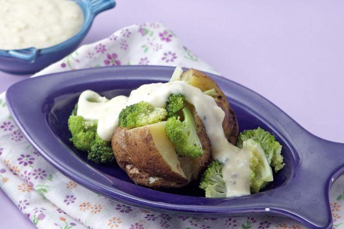Camilan Sehat untuk Si Kecil, Ini Resep Kentang Isi Brokoli Keju