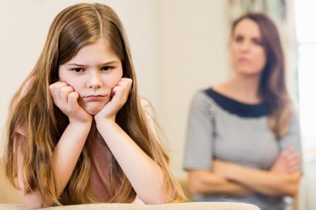 Ilustrasi anak tidak mau menurut. Foto: Shutterstock