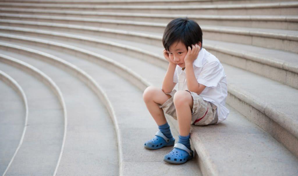 Ilustrasi anak mengalami kecemasan. Foto: Shutterstock