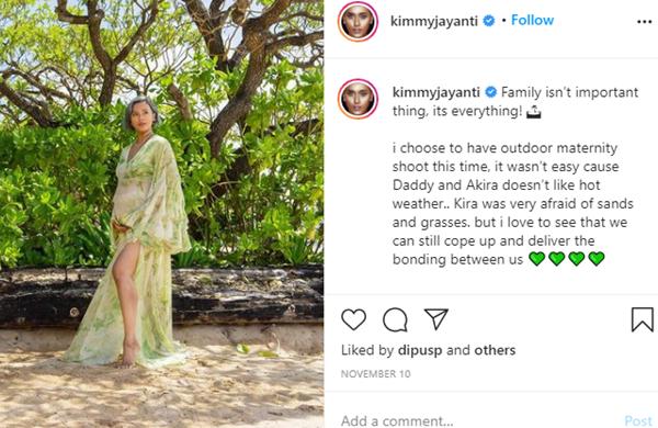Cantiknya Kimmy Jayanti saat Pamer Baby Bump