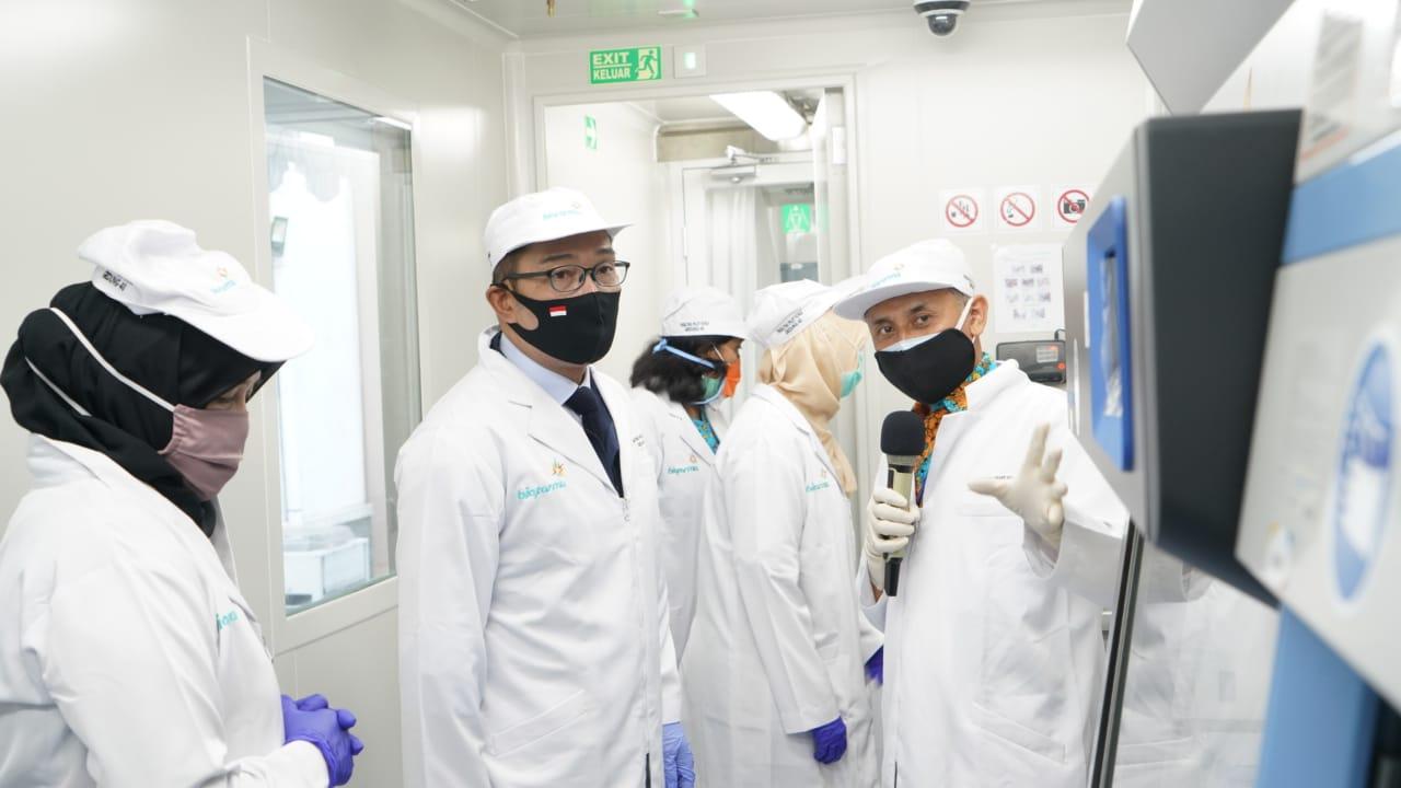 Tangani Covid-19, Inovasi Bio Farma Ciptakan Lab BSL 3 Bergerak. Foto: Humas Bio Farma