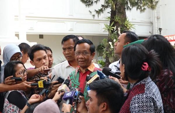 Mendadak Mahfud MD Mengaku Ada Buzzer Terorganisir, Pasti Kaget (Foto: Dok Antara)