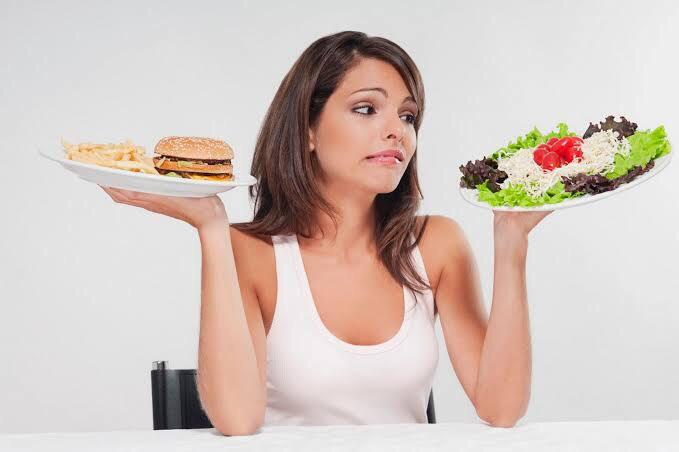 Ilustrasi diet sehat tanpa obat. foto: Pinterest