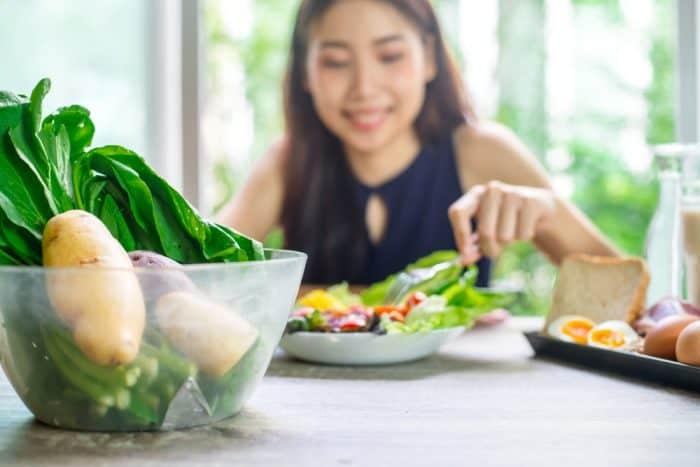 Ilustrasi makanan sehat. Foto: Shutterstock