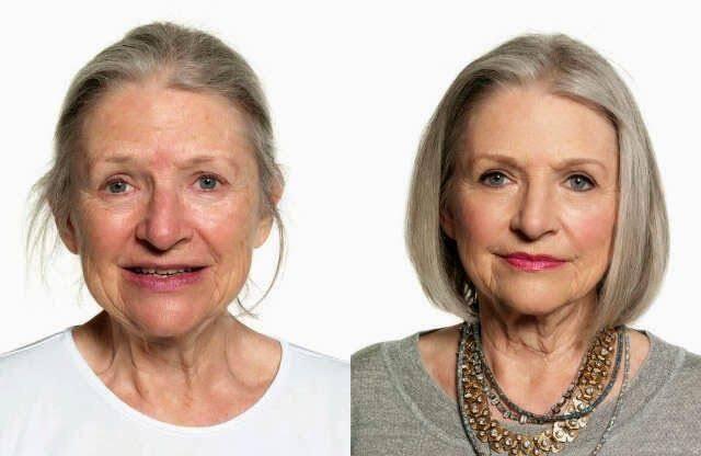 Ilustrasi makeup cantik untuk wanita dewasa. Foto: Pinterest