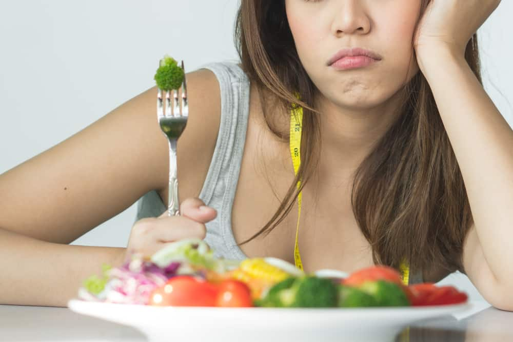 Ilustrasi malas makan. Foto: Shutterstock