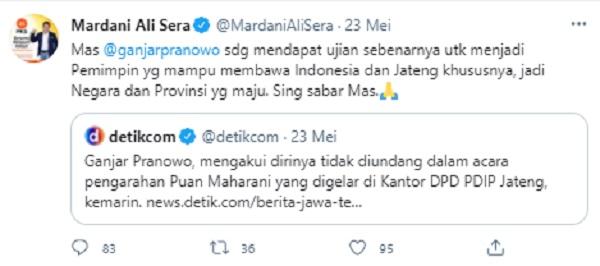 Politikus PKS Beri Dukungan Ganjar Pranowo, Sing Sabar Mas!