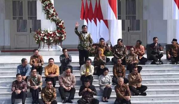Hasil Survei IPO Bikin Kaget, Ini 15 Menteri Layak Diganti