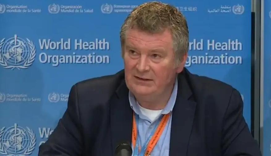 mike ryan. Foto: who.int