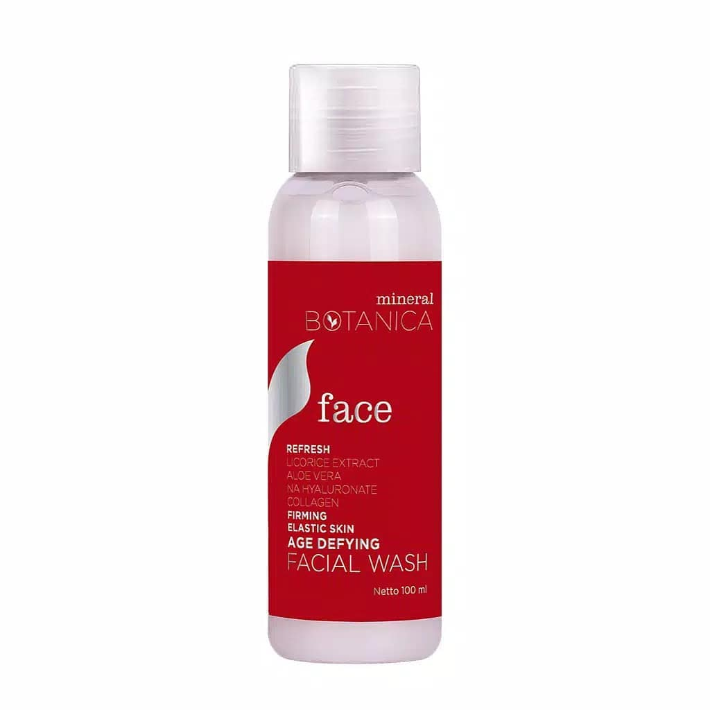Mineral Botanica Age Defying Facial Wash. Foto: Instagram/@tokoemina.id
