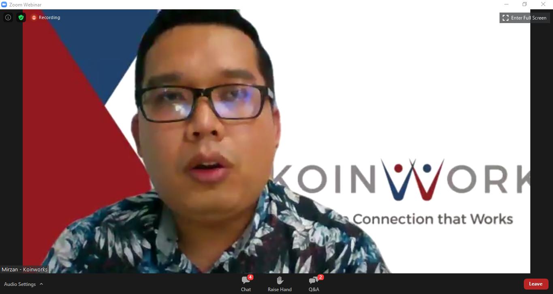 Webinar Cash Flow Lancar, Bisnis Online Makin Cuan, Kamis (26/11/2020).