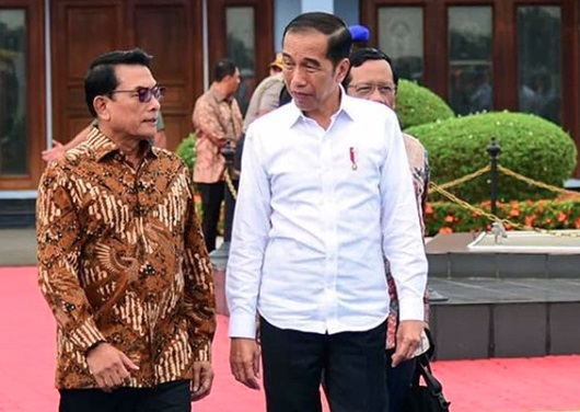 Jaga Muruah Jokowi, Pakar Politik Top Minta Moeldoko Diganti