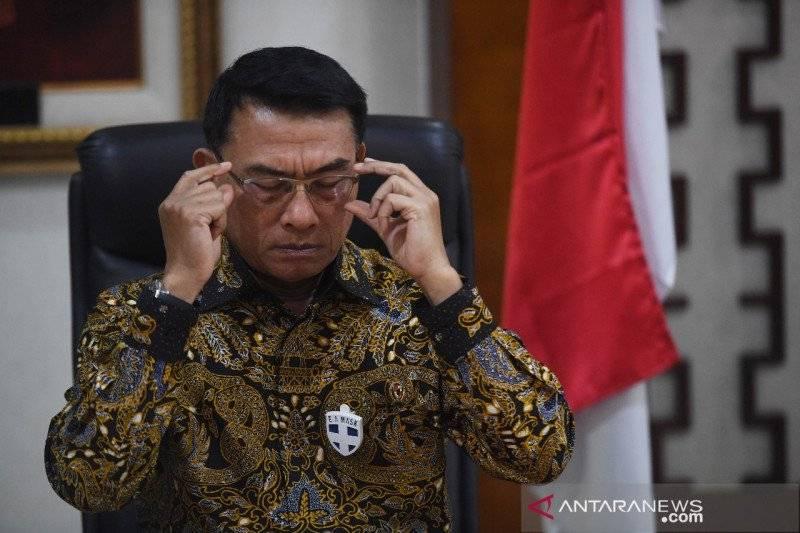 Moeldoko Panen Cibiran, Kubu AHY: Putusnya Urat Malu - Kepala KSP Moeldoko (Foto: dok Antara)