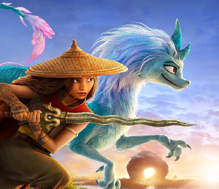 Disney Perkenalkan Pengisi Suara Animasi Raya and The Last Dragon