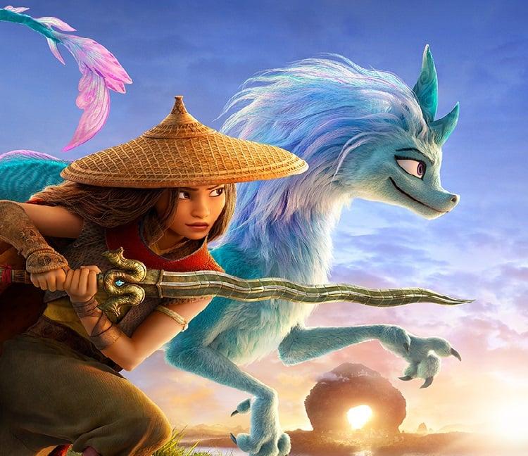 Poster animasi Raya and The Last Dragon. Foto: PR Disney Indonesia