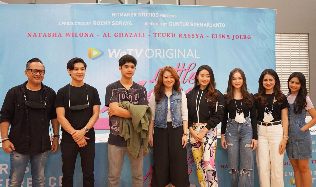 Natasha Wilona hingga Al Ghazali Bintangi Little Mom, Seru Banget