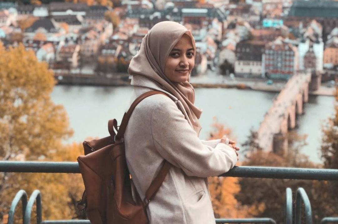 Zahra Inatsa Hauna, mahasiswi Indonesia di Jerman. Foto: doc Zahra