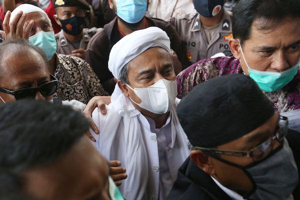 Jelang Lanjutan Praperadilan, Habib Rizieq Beri Pesan Menohok
