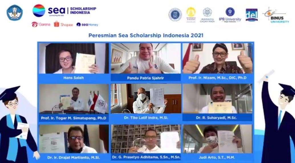 Webinar Sea scholarship. Foto: PR Artemis