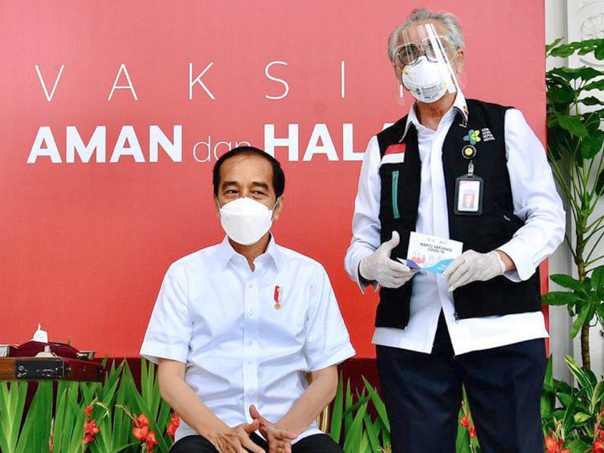 Besok, Jokowi Disuntik Vaksin Covid-19 Dosis Kedua