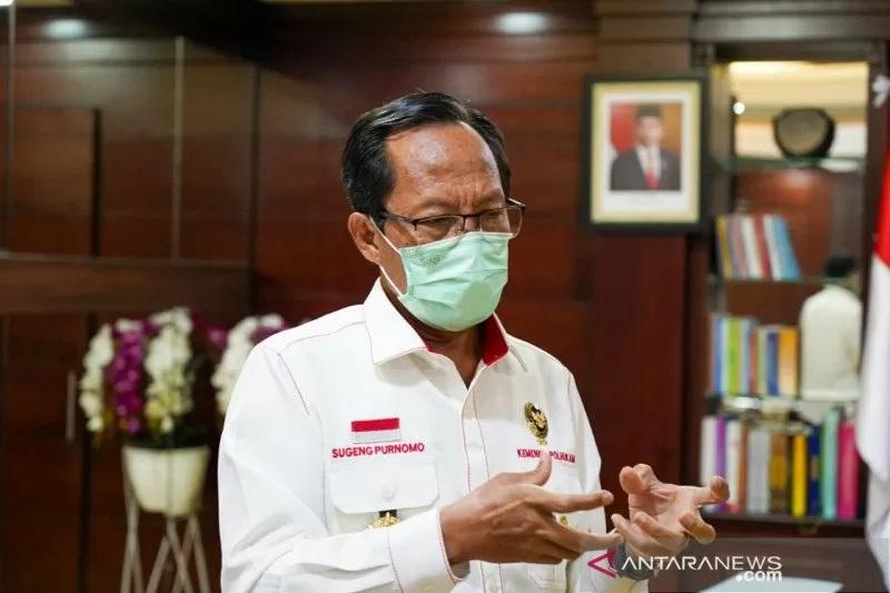 Ketua Tim Revisi UU ITE Sugeng Purnomo (Foto: ANTARA/Kemenko Polhukam)