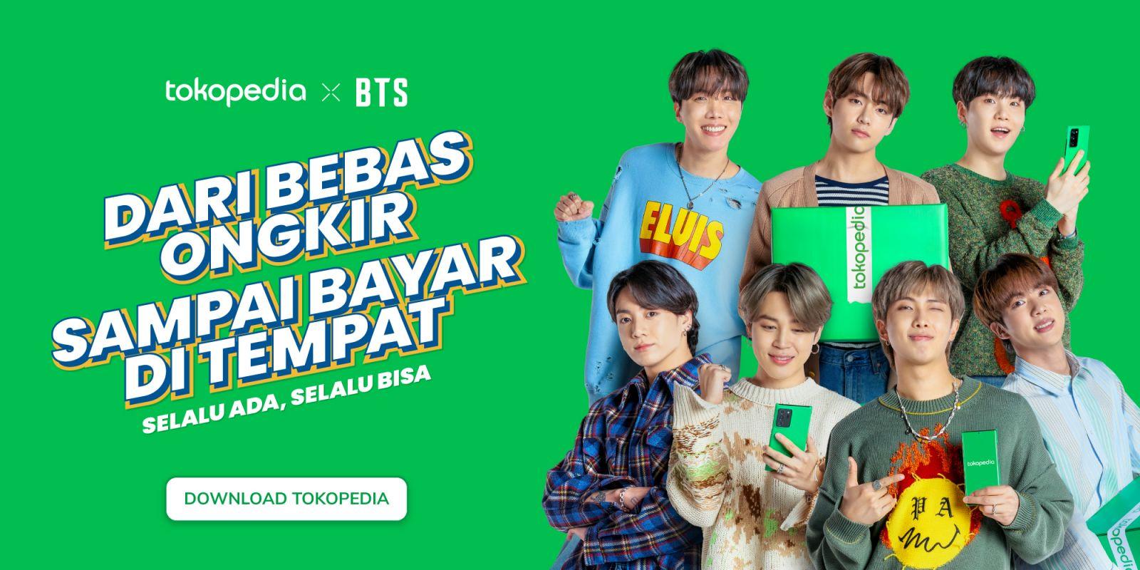 Duar! Tokopedia Gaet BTS dan Blackpink menjadi Brand Ambassador