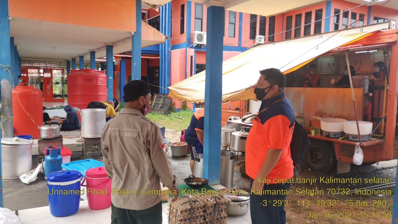 Tangani Banjir Kalsel, BNPB Kirim Personil TRC dan Logistik