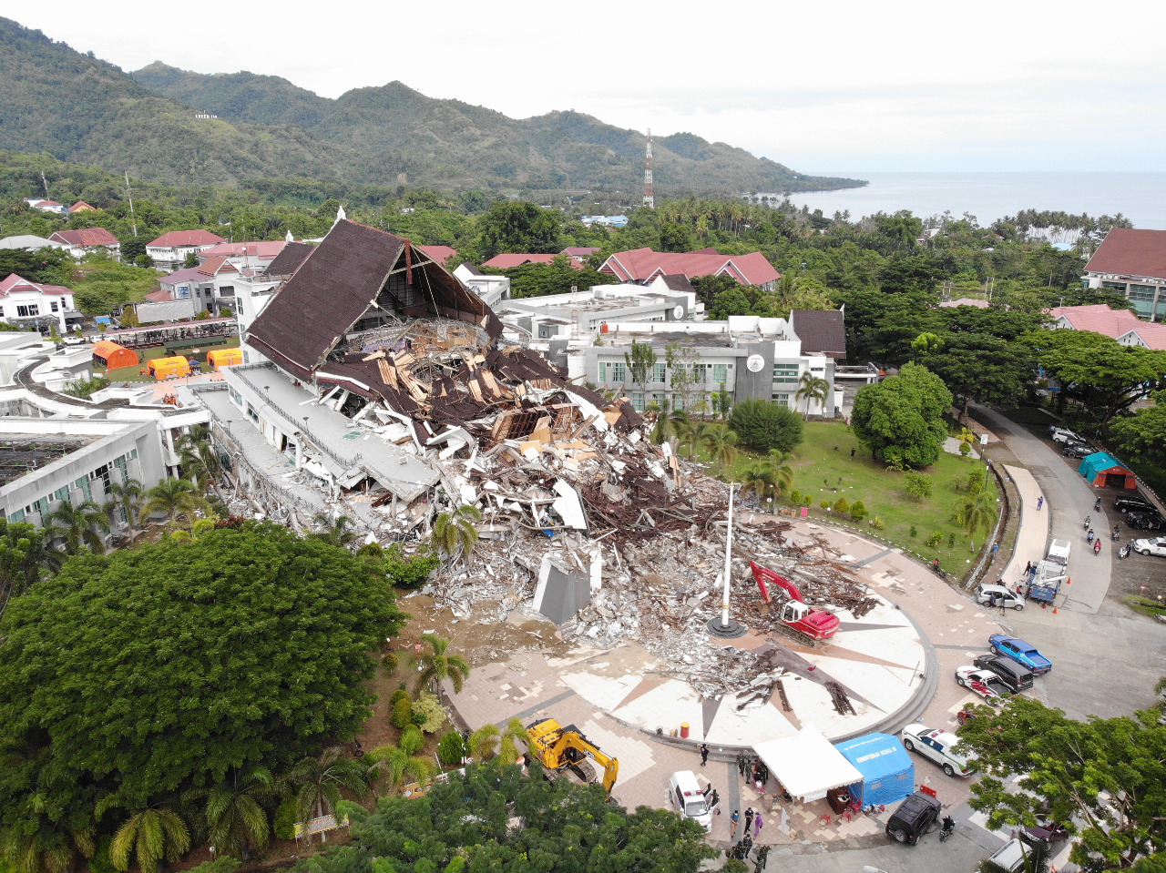 Update Gempa Sulbar: Korban 84 Orang Meninggal Dunia