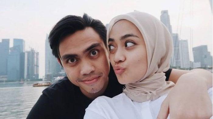 Pasangan Ayudia Bing Slamet dan Ditto. Foto: IG: @ayudiac