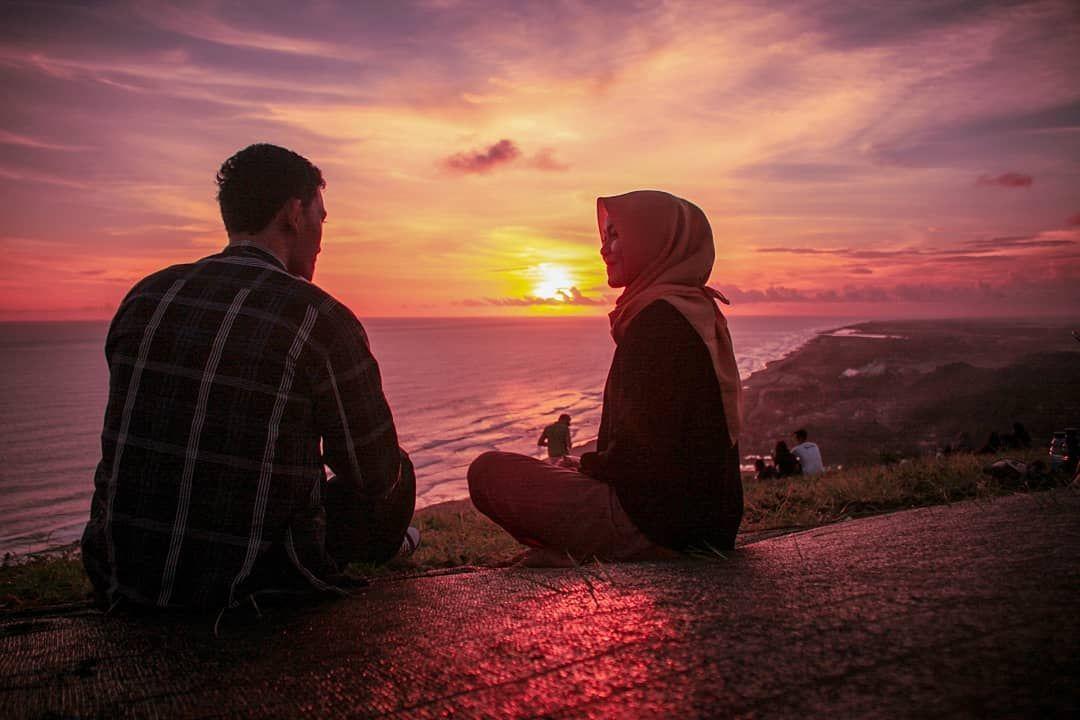 Pasangan muslim. Foto: Pinterest