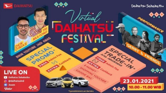 Promo Mobil Baru Gila-gilaan di Virtual Daihatsu Festival, Cek!