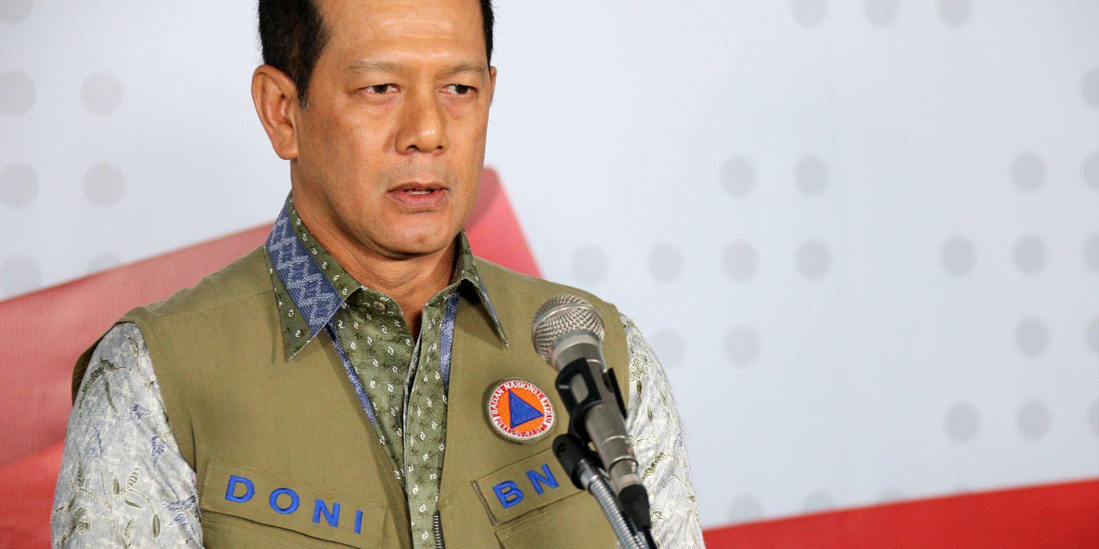 Doni Monardo, Ketua Satgas Covid-19 Positif Corona. Foto: BNPB