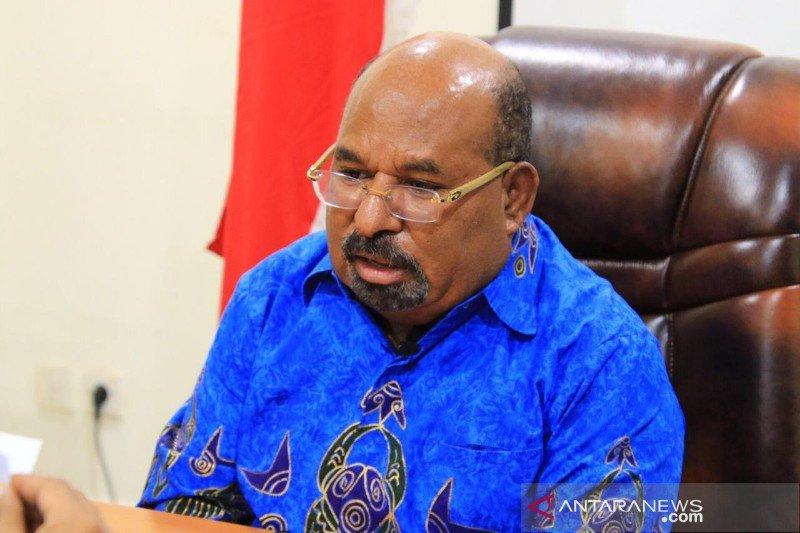 Gubernur Papua Lukas Enembe. Foto: Antara