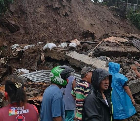 Tanah Longsor Manado. Foto: BNPB