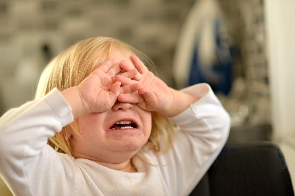 Tanda si kecil menjadi korban KDRT. Foto : maggie dent