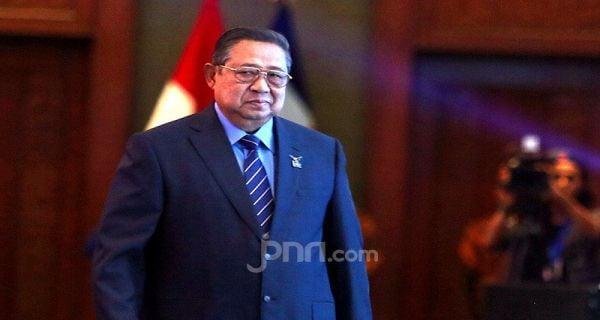 Ketua Majelis Tinggi Partai Demokrat Susilo Bambang Yudhoyono. Foto: Ricardo/Jpnn