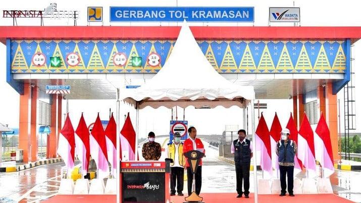 Tol Resmi Beroperasi, Bakauheni ke Palembang Hanya 3,5 Jam Saja