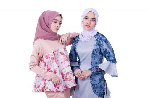 Perpaduan hijab untuk si tubuh mungil. Foto: Pixabay