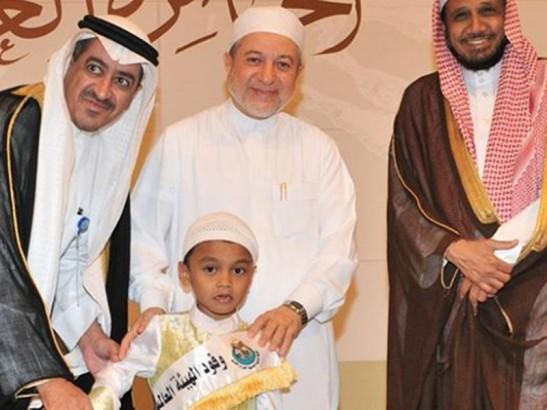 Takjub! Hafiz Cilik asal Bangka Menorehkan Prestasi di Mesir. Foto: Kemenag